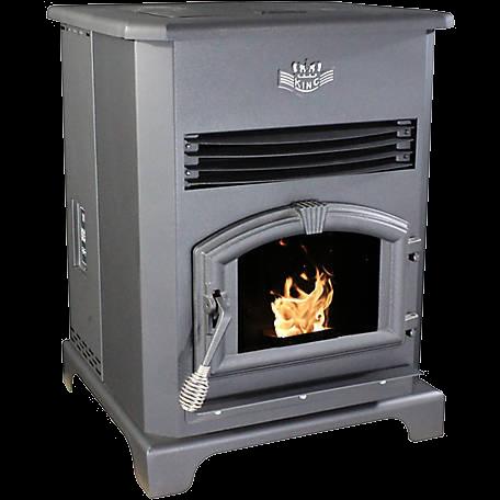 king pellet stove deluxe kp13-